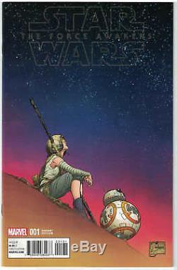 Star Wars Force Awakens Adaptation #1 1100 Quesada Color Variant VF/NM