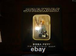 Star Wars Gentle Giant Boba Fett Mini Bust 4193/7500 Dark Horse Comics