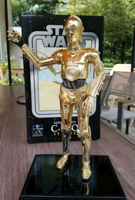 Star Wars Gentle Giant C3po Statue #2352 Of Only 3000