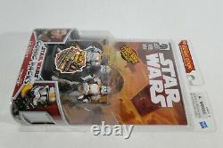 Star Wars Hasbro LC 2009 Comic Packs #10 Clone Trooper Lt & Clone Trooper