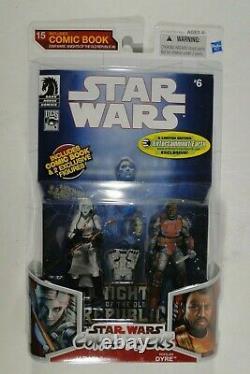 Star Wars Hasbro LC 2009 Comic Packs EE #15 Jareal & Rohlan Dyre