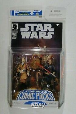 Star Wars Hasbro TLC 2008 Comic Packs #16 Ki-Adi-Mundi & Sharad Hett