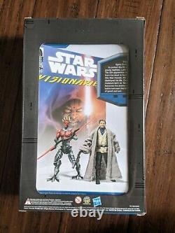 Star Wars Hasbro Visionaries SOTDS 2010 Comic Packs Darth Maul & Owen Larsb (L)