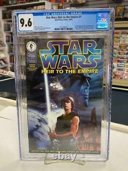 Star Wars Heir To The Empire #1 (1995) Cgc 9.6 Grand Admiral Thrawn