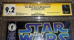 Star Wars Heir To The Empire #1 CGC 9.2 Dark Horse 1st appearance of Thrawn