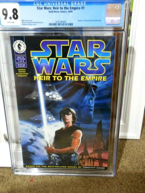 Star Wars Heir To The Empire #1 Cgc 9.8 First Appearance Of General Thrawn