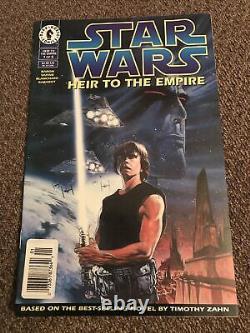 Star Wars Heir To The Empire #1 Dark Horse Newsstand NM 1st Admiral Thrawn