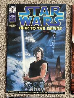 Star Wars Heir To The Empire Comic Book Set 1-6 Dark Horse 1st Appearance Thrawn