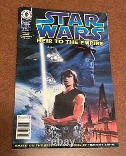 Star Wars Heir to The Empire #1 Dark Horse Comics Admiral Thrawn First App