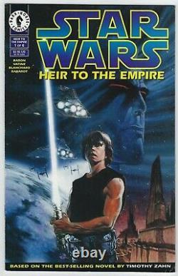 Star Wars Heir to the Empire #1 (1995, Dark Horse) 1st App Thrawn, Zahn, F+/VF