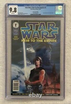 Star Wars Heir to the Empire #1 CGC 9.8 Newsstand 1st Thrawn & Mara Jade