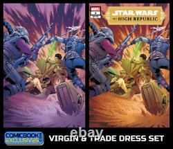 Star Wars High Republic #4 Virgin and Trade Dress Set (Brand New)