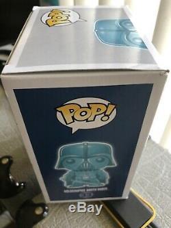 Star Wars Holographic GITD Darth Vader Funko Pop Paris Comics Expo Exclusive