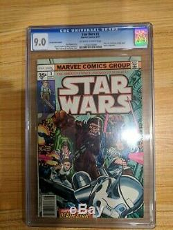 Star Wars Issue 2 and 3, both 35 cent variant, both CGC
