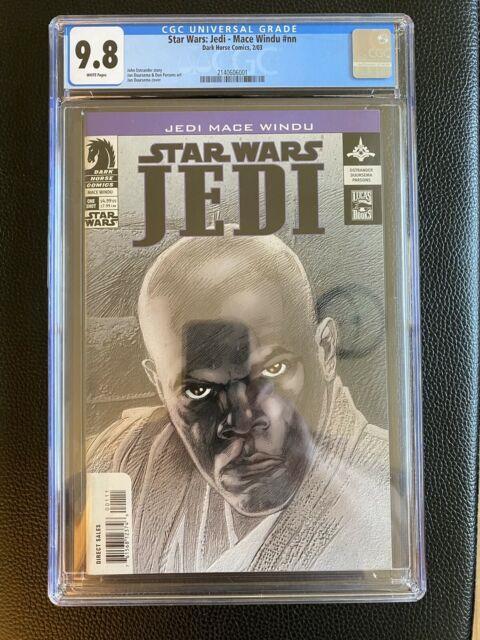 Star Wars Jedi Mace Windu #nn Cgc 9.8 1st Appearance Of Asajj Ventress