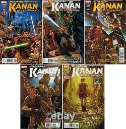 Star Wars KANAN The Last Padawan (5) Comic Run #1 2 3 4 5 Sabine 1st print lot