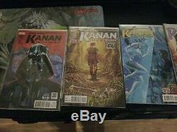 Star Wars Kanan The Last Padawan #1 12 Complete Run+1 1st Sabine Wren VF/NM