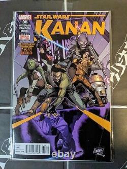 Star Wars Kanan The Last Padawan 6 1st Sabine Wren Marvel comics
