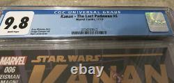 Star Wars Kanan The Last Padawan #6 First Full Sabine Wren Ezra Bridger CGC 9.8