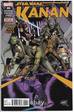 Star Wars Kanan The Last Padawan 6 KEY 1st Sabine Wren Marvel