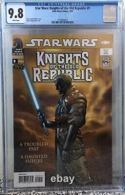Star Wars Knights of The Old Republic #9 CGC 9.8 1st Full Revan