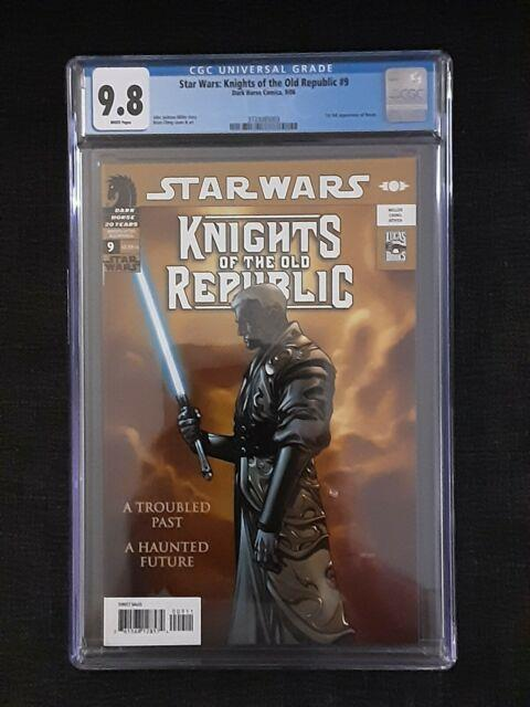Star Wars Knights Of The Old Republic 9 Cgc 9.8 Dark Horse 1st Darth Revan