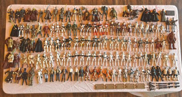 Star Wars Large Action Figure Lot (131), Clone Troopers, Comic Packs, Vc