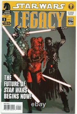 Star Wars Legacy 1 / 1st Print 1st Darth Krayt Nihl Cade Skywalker / Dark Horse