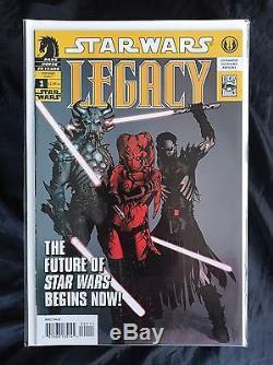 Star Wars Legacy (2006) #1-50 + Promo #0 Full Run Set Dark Horse High Grade Set