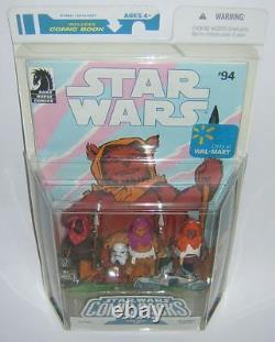 Star Wars Legacy Comic Pack #95 Machook Keoulkeech Kettch Walmart Exclusive Ewok