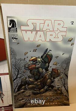 Star Wars Legacy Comic Pack Montross & Jaster Mereel (EE Exclusives) Complete