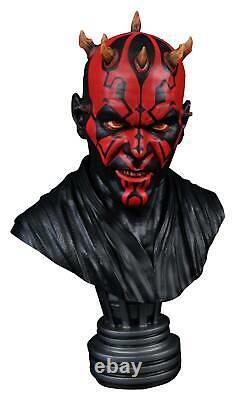 Star Wars / Legends In 3d / Darth Maul 12 Scale Bust-statue New In Box