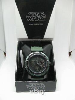Star Wars Limited Edition Comic-Con Bobba Fett Watch No. 028/300