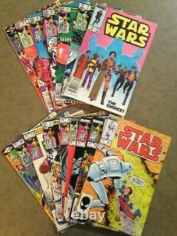 Star Wars, Lot of 16 Marvel Comics