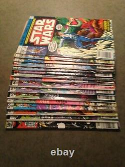 Star Wars, Lot of 17 Marvel Comics
