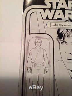 Star Wars Luke Skywalker 001 Variant Sketch Direct Edition C2E2 action figure