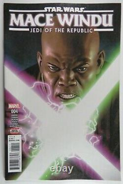 Star Wars MACE WINDU Jedi of the Republic (5) comic SET #1 2 3 4 5 Ahsoka 1st