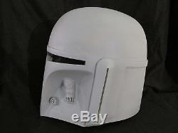 Star Wars Mando V1 Style Bounty Hunter Mandalorian Comic Con Helmet Prop Lot
