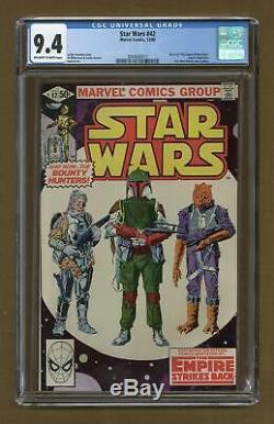 Star Wars (Marvel) #42 1980 CGC 9.4 2004600017