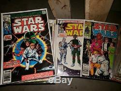 Star Wars (Marvel) Lot Near Complete Series Set with#s 1-107, 42, Boba Fett