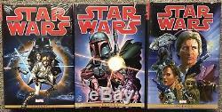 Star Wars Marvel Yrs Omnibus Hc Vol 01-2-3 Set