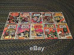Star Wars Marvel comics lot 2-107 near complete set (1977) Annuals 2 & 3