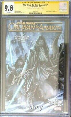 Star Wars Obi-Wan & Anakin #1 CGC 9.8 SS Signed by Hayden Christensen