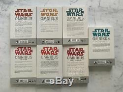 Star Wars Omnibus Collection Dark Horse 7 Volume Set