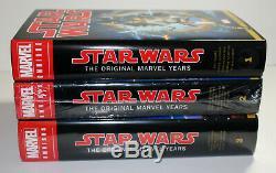 Star Wars Omnibus Vol 1 2 3 HC lot Marvel Years