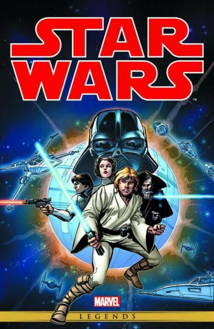 Star Wars Original Marvel Years Omnibus Hardcover Vol 01 Chaykin Cover Rep 1-44+