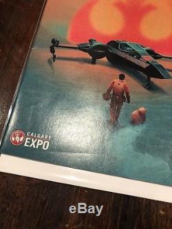 Star Wars Poe Dameron #1 Calgary Expo 2016 Variant