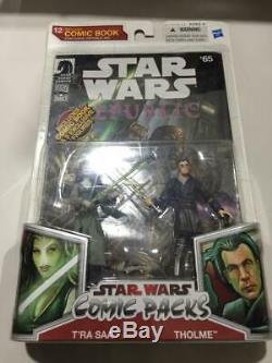 Star Wars Republic #65 comic packs #12 Star Wars T'Ra Saa & Tholme Jedi