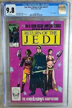 Star Wars Return of the Jedi #1 Marvel 1983 CGC 9.8 NM/MT WhitePages Comic R0077