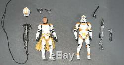 Star Wars Routine Valor Comic Pack Utapau Clone Lieutenant and Trooper 3.75